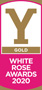 Gold - White Rose Awards 2020 (Logo)