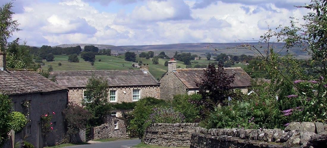 Photograph of the cottages or surrounding area